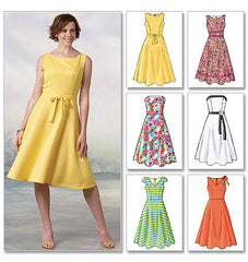 Butterick - B4443 Misses' Petite Dress | Easy - WeaverDee.com Sewing & Crafts - 1
