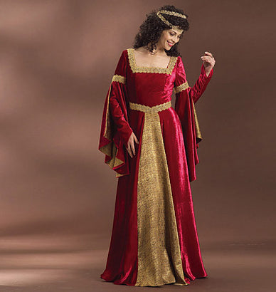 Butterick - B4571 Misses' Renaissance Costume - WeaverDee.com Sewing & Crafts - 1