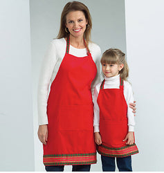 Butterick - B4585 Apron | Adults'/Kid's | See & Sew - WeaverDee.com Sewing & Crafts - 1