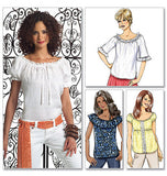 Butterick - B4685 Misses' Top | Very Easy - WeaverDee.com Sewing & Crafts - 1