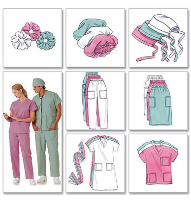 Butterick - B4946 Unisex Medical Doctor / Nurse Uniforms - WeaverDee.com Sewing & Crafts - 1