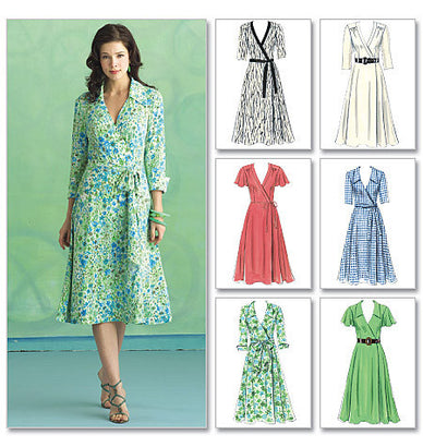 Butterick - B5030 Misses' Dress, Belt & Sash | Easy - WeaverDee.com Sewing & Crafts - 1