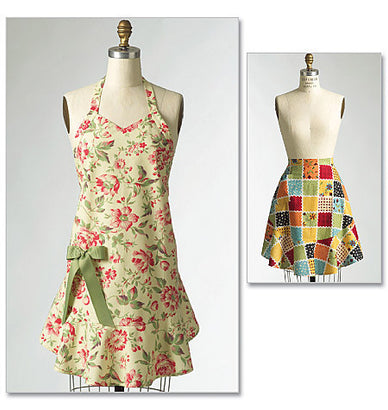 Butterick - B5125 Aprons | See & Sew - WeaverDee.com Sewing & Crafts - 1
