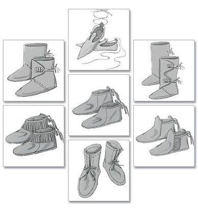Butterick - B5233 Historical Footwear - WeaverDee.com Sewing & Crafts - 1