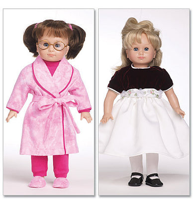 "Butterick - B5414 18"" Doll Clothes - WeaverDee.com Sewing & Crafts - 1"