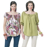 Butterick - B5480 Misses' Top | See & Sew - WeaverDee.com Sewing & Crafts - 2
