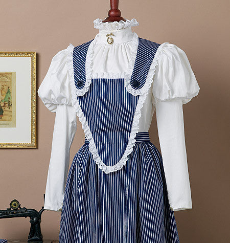 Butterick Sewing Pattern: B5509 Historical Aprons – WeaverDee.com