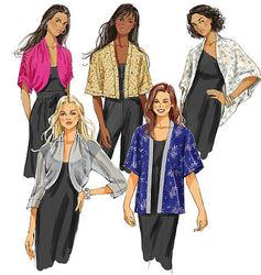 Butterick - B5529 Misses' Jackets - WeaverDee.com Sewing & Crafts - 1