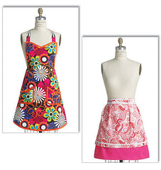 Butterick - B5551 Aprons | See & Sew - WeaverDee.com Sewing & Crafts - 1