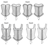 Butterick - B5662 Misses' Historic Corsets - WeaverDee.com Sewing & Crafts - 6
