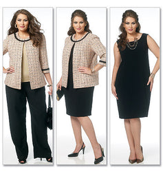 Butterick - B5719 Women's Wardrobe Pieces | Easy - WeaverDee.com Sewing & Crafts - 1