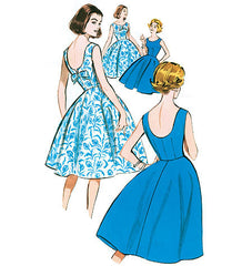 Butterick - B5748 Misses' 1950's Petite Dress | Easy | Vintage - WeaverDee.com Sewing & Crafts - 1