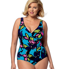 Butterick - B5795 Womens' Cover-Up, Top, Swimdress, Swimsuit, Skirt & Briefs - WeaverDee.com Sewing & Crafts - 1