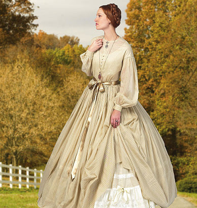 Butterick - B5831 Misses' Historic Dress - WeaverDee.com Sewing & Crafts - 1