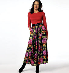 Butterick - B5840 Misses' Skirt | See & Sew - WeaverDee.com Sewing & Crafts - 1