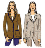 Butterick - B5926 Misses' Petite Jacket | Easy - WeaverDee.com Sewing & Crafts - 6