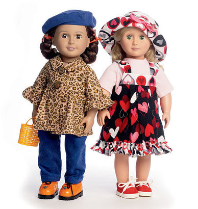 "Butterick - B5944 18"" Doll Clothes 