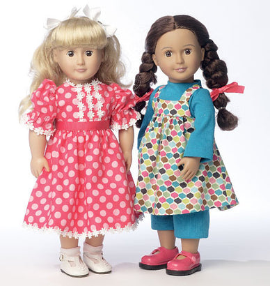 "Butterick - B6082 Clothes For 18"" Doll 