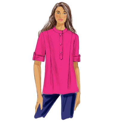 Butterick - B6099 Misses' Tunic | Easy - WeaverDee.com Sewing & Crafts - 1