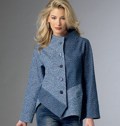 Butterick - B6106 Misses' Jacket | Average - WeaverDee.com Sewing & Crafts - 1