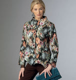 Butterick - B6106 Misses' Jacket | Average - WeaverDee.com Sewing & Crafts - 3