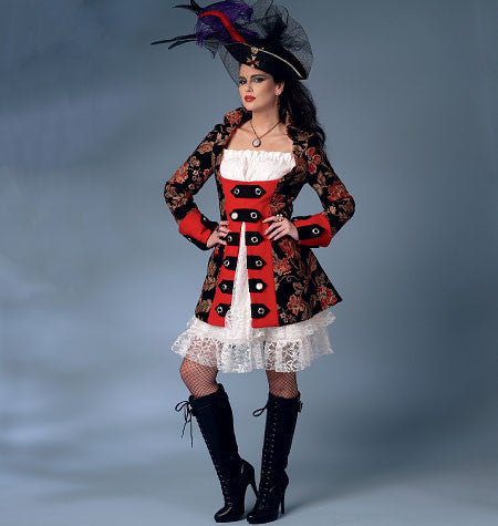 Butterick - B6114 Misses' Costume | Average - WeaverDee.com Sewing & Crafts - 1