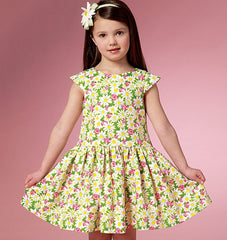Butterick - B6201 Girls' Dress - WeaverDee.com Sewing & Crafts - 1