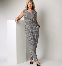 Butterick - B6224 Womens' Kimono & Jumpsuit | Easy - WeaverDee.com Sewing & Crafts - 1