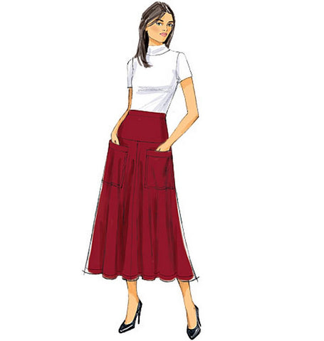 Butterick - B6249 Misses Skirt | Easy - WeaverDee.com Sewing & Crafts - 1