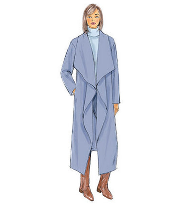 Butterick - B6250 Misses Jacket, Coat & Wrap - WeaverDee.com Sewing & Crafts - 1