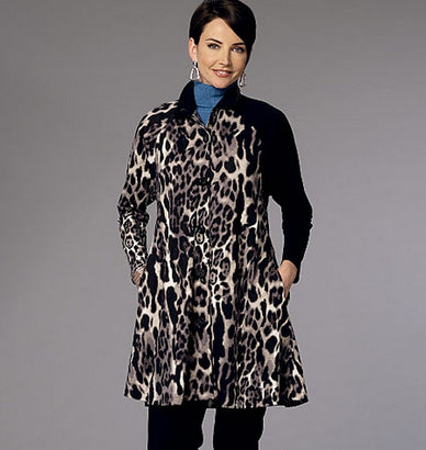 Butterick - B6254 Misses' Coat Dress - WeaverDee.com Sewing & Crafts - 1