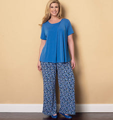 Butterick - B6262 Misses/Womens' Loungewear - WeaverDee.com Sewing & Crafts - 1