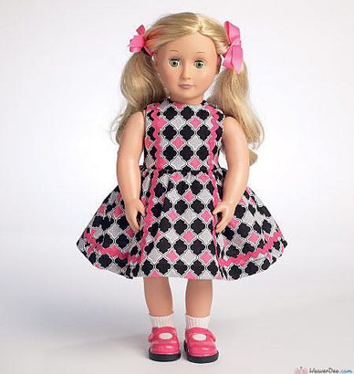 "Butterick - B6275 18"" Doll Clothes 