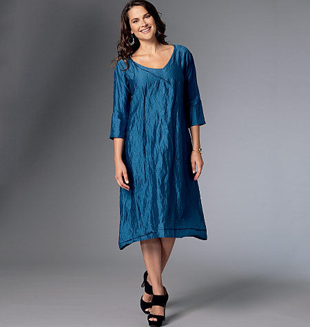 Butterick - B6283 Misses' Dress | Easy - WeaverDee.com Sewing & Crafts - 1