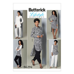 Butterick - B6294 Misses' Tunic & Pants | Easy - WeaverDee.com Sewing & Crafts - 1