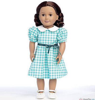 "Butterick - B6313 Pleated Dresses & Short Sleeve Top for 18"" Doll 