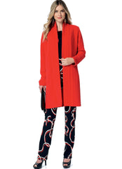 Butterick - B6368 Misses' Banded Cardigan, Top, Belt & Tapered Pants | See & Sew - WeaverDee.com Sewing & Crafts - 1