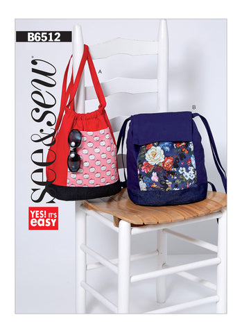 Butterick Pattern B6512 Back Packs | See & Sew