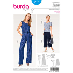 Burda - BD6516 Misses' Coordinates - WeaverDee.com Sewing & Crafts - 1