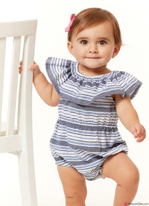 Butterick Pattern B6549 Infants Romper, Dress & Panties