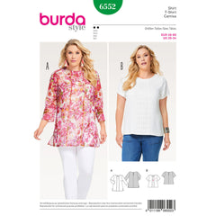 Burda - BD6552 Women's Blouse - WeaverDee.com Sewing & Crafts - 1