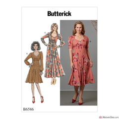Butterick Pattern B6586 Misses' Dress