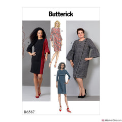 Butterick Pattern B6587 Misses'/ Women's Dress