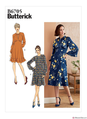 Butterick Pattern B6705 Misses' Dress