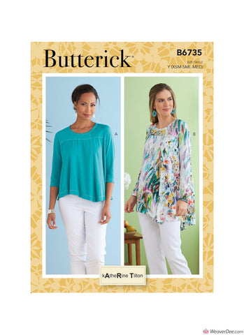 Butterick Pattern B6735 Misses' Top