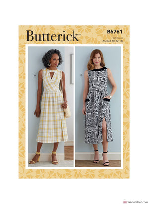 Butterick Pattern B6761 Misses' & Misses' Petite Dress