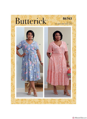 Butterick Pattern B6763 Women's Dresses