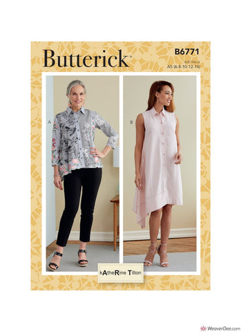 Butterick Pattern B6771 Misses' Top & Dress