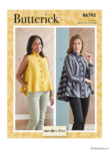 Butterick Pattern B6792 Misses' Tops