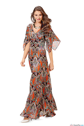 Burda - BD6583 Evening Dress - WeaverDee.com Sewing & Crafts - 1